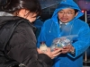 [사진] 비 내리는 날에 의사국시 '시험 잘 보세요'