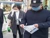 [사진] 신종 코로나바이러스 여파로 선거운동도 '중단'