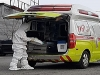 [사진] 쏟아지는 코로나19 검체 이송 위해 119 구급대 가동