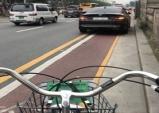 '차 막힌' 자전거도로 얼마나 되나 살폈다
